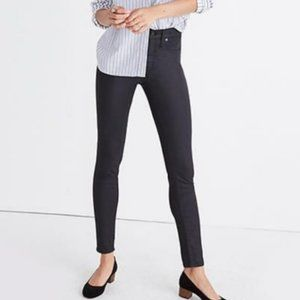 """Madewell 9"""" High-Rise Skinny Jeans: Coated Edition"""